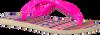 roze HAVAIANAS Slippers KIDS SLIM FASHION  - small