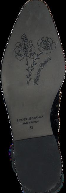 Zwarte SCOTCH & SODA Biker boots TRONA BIKER 751130  - large