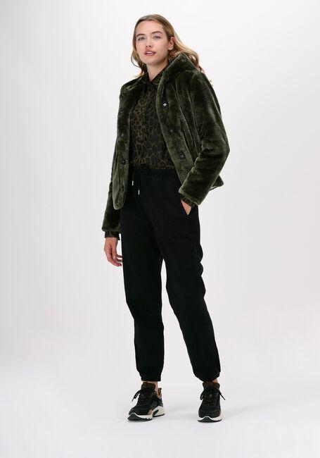 Groene GIACOMO THE JACKET Faux fur jas 13 LT FUR  - large