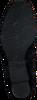 Zwarte HASSIA Enkellaarsjes 6924  - small