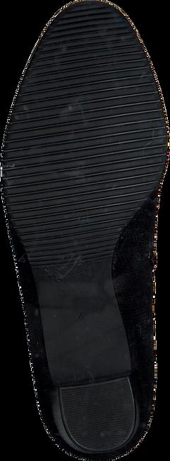 Zwarte HASSIA Enkellaarsjes 6924  - large