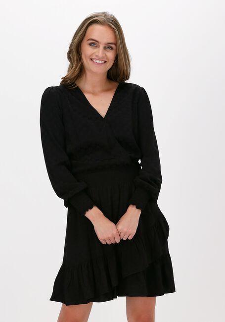 Zwarte MICHAEL KORS Mini jurk JULIA MK LOGO JDQ DRESS - large