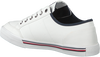Witte TOMMY HILFIGER Lage sneakers CORE CORPORATE  - small
