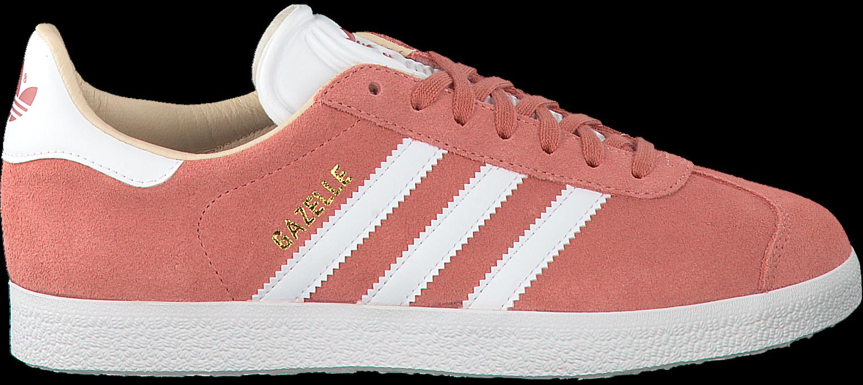 roze adidas sneakers gazelle dames