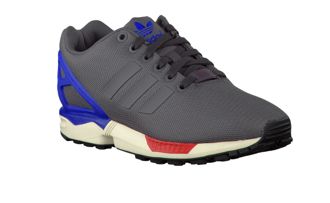 Grijze ADIDAS Sneakers ZX FLUX KIDS  - large