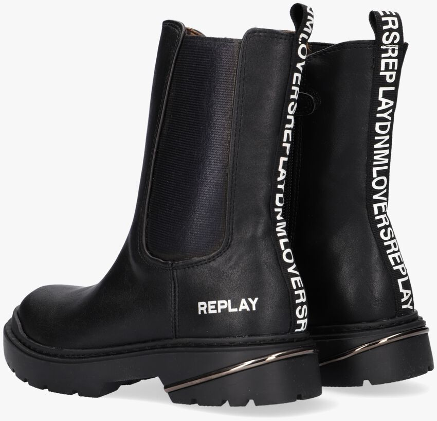 Zwarte REPLAY Chelsea boots POP  - larger