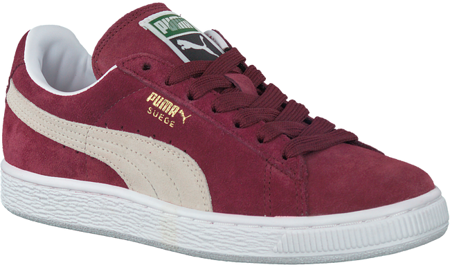 Rode PUMA Sneakers SUEDE CLASSIC+ DAMES  - large