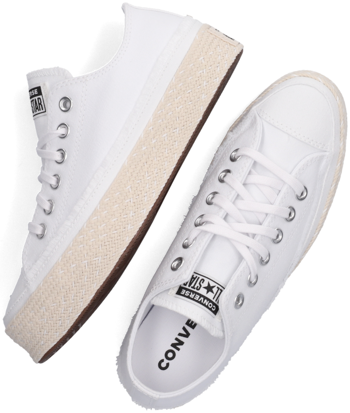 Witte CONVERSE Lage sneakers CHUCK TAYLOR ALL STAR ESPADRIL  - larger