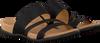 Zwarte GABOR Slippers 703 - small