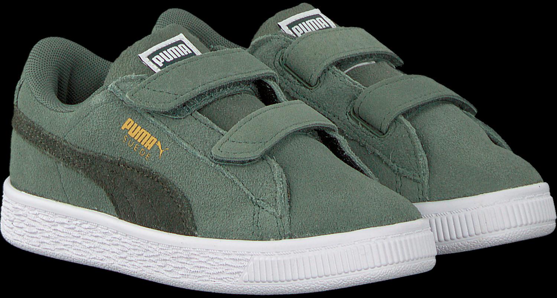 Groene PUMA Sneakers SUEDE CLASSIC INF Omoda