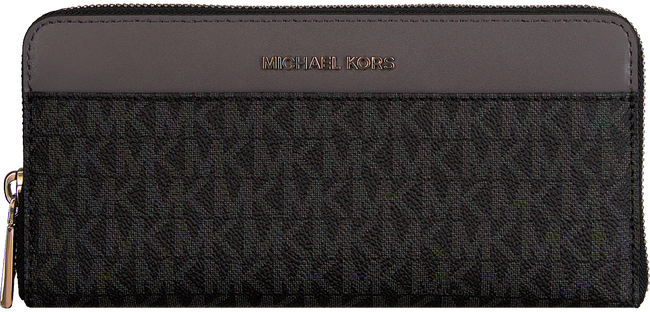 Zwarte MICHAEL KORS Portemonnee MONEY PIECES POCKET ZA CONTNTL - large