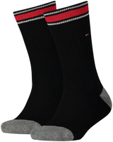 Zwarte TOMMY HILFIGER Sokken TH KIDS ICONIC SPORTS SOCK 2P - medium