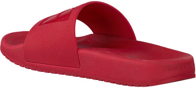 Rode CALVIN KLEIN Slippers CHRISTIE - large