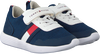 Blauwe TOMMY HILFIGER Sneakers LOW CUT LACE UP/VELCRO  - small