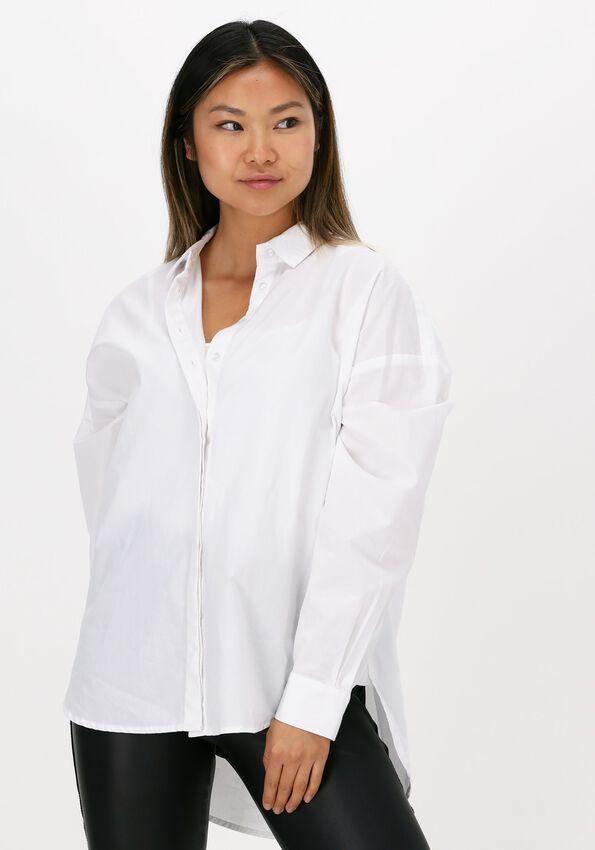 Witte SELECTED FEMME Blouse HEMA LS SHIRT B BRIGHT  - larger
