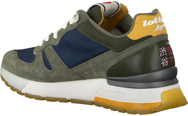 Groene LOTTO LEGGENDA Lage sneakers TOKYO SHIBUYA  - large