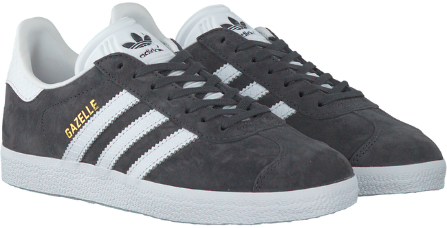 Grijze ADIDAS Sneakers GAZELLE DAMES  - large