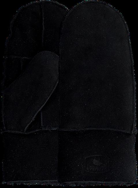 Zwarte WARMBAT Handschoenen MITTEN WOMEN  - large