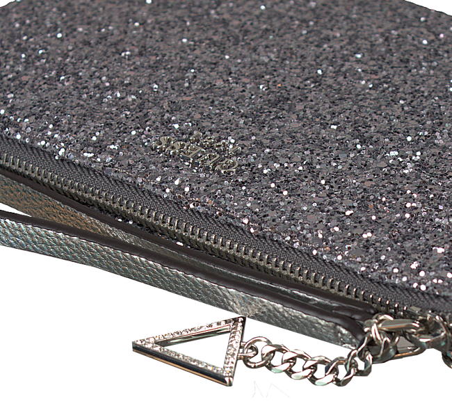 Zilveren GUESS Clutch HWSF68 62720 - large