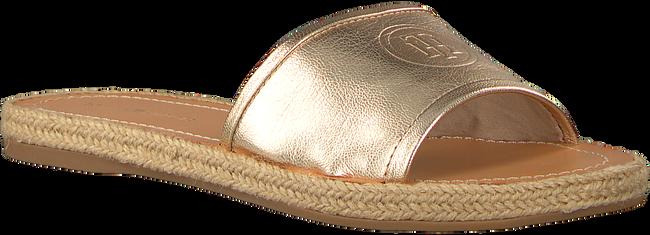 Gouden TOMMY HILFIGER Slippers METALLIC FLAT MULE - large