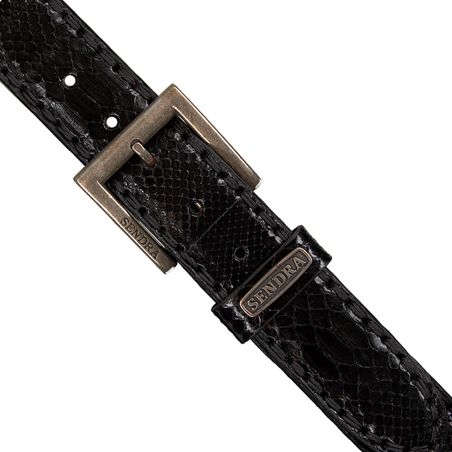 Zwarte SENDRA Riem 1016 - large