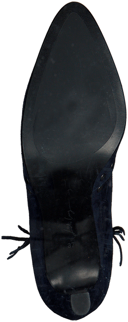 Blauwe LOLA CRUZ Enkellaarsjes BOTIN T.85 EN ANTE CON REMACHE  - large