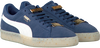Blauwe PUMA Sneakers SUEDE CLASSIC BBOY DAMES  - small