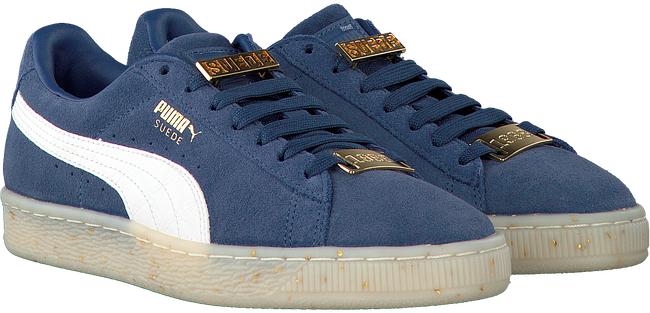 Blauwe PUMA Sneakers SUEDE CLASSIC BBOY DAMES  - large