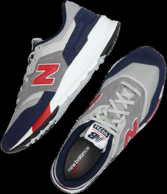 Grijze NEW BALANCE Lage sneakers CM997  - large
