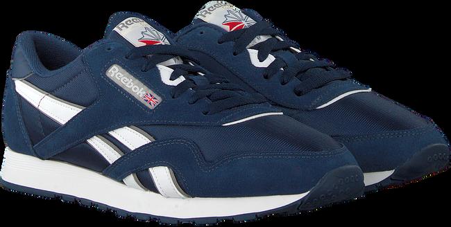 Blauwe REEBOK Sneakers CL NYLON MEN  - large