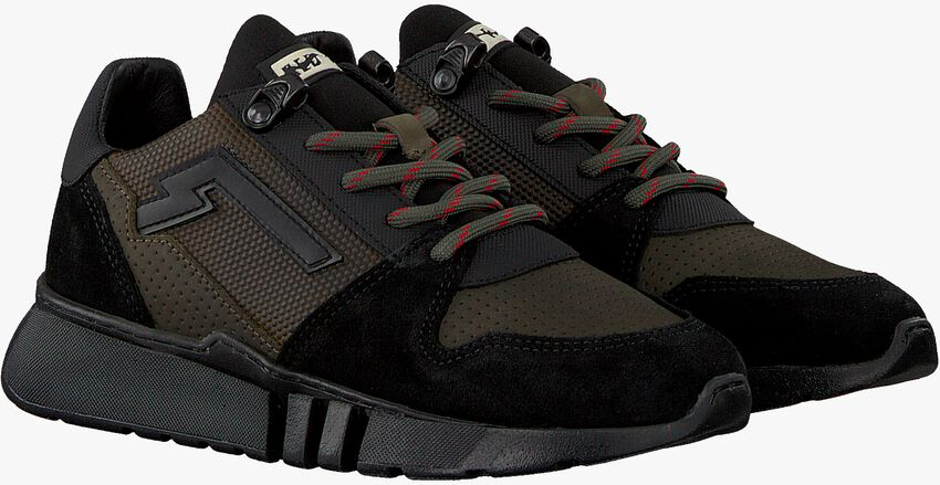 Groene RED-RAG Lage sneakers 13215  - larger