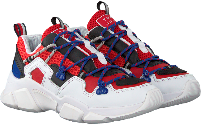 Rode TOMMY HILFIGER Lage sneakers CITY VOYAGER CHUNKY  - large
