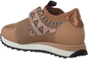 Bruine LOLA CRUZ Sneakers 301Z04BK  - small