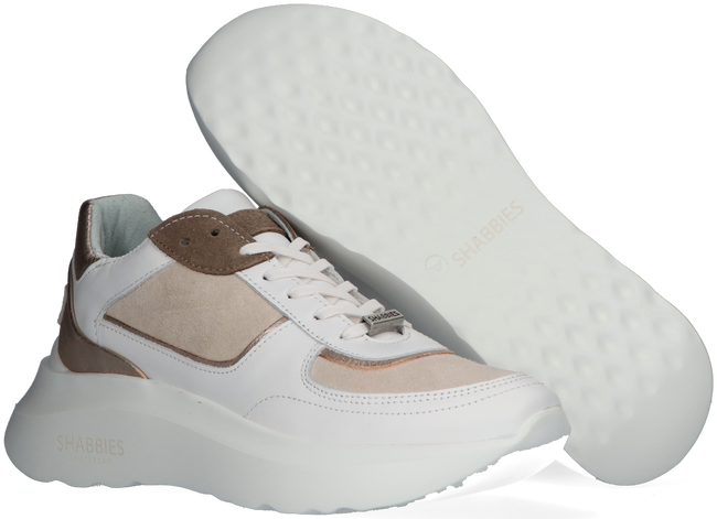 Witte SHABBIES Lage sneakers 101020118  - large