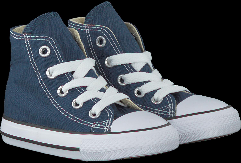 58a0ca7ccc4 Blauwe CONVERSE Sneakers CHUCK TAYLOR ALL STAR HI KIDS - Omoda.nl