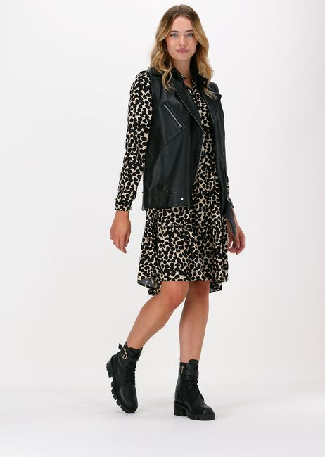Zwarte MSCH COPENHAGEN Mini jurk BAHIRA JALINA SHORT DRESS AOP - large