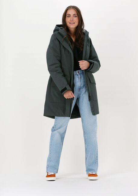 Groene ELVINE Gewatteerde jas MEMY - large