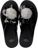 Zwarte UGG Slippers POPPY  - small