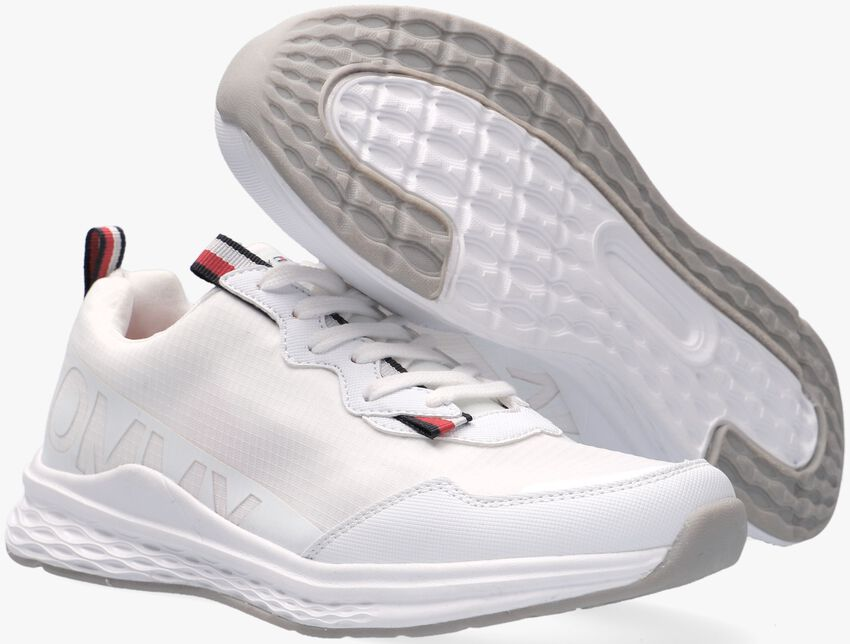 Witte TOMMY HILFIGER Lage sneakers 31100  - larger