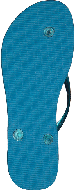 Blauwe HAVAIANAS Slippers SLIM TROPICAL - large