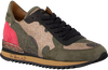 Groene VIA ROMA 15 Sneakers 2462 - small