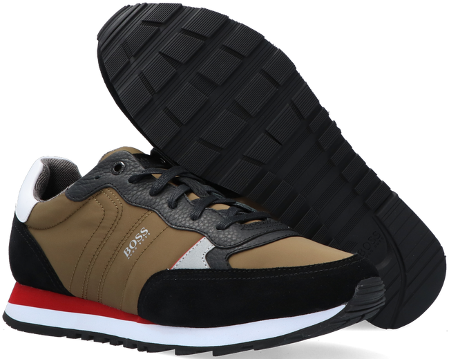 Groene BOSS Sneakers PARKOUR RUNN MX  - large