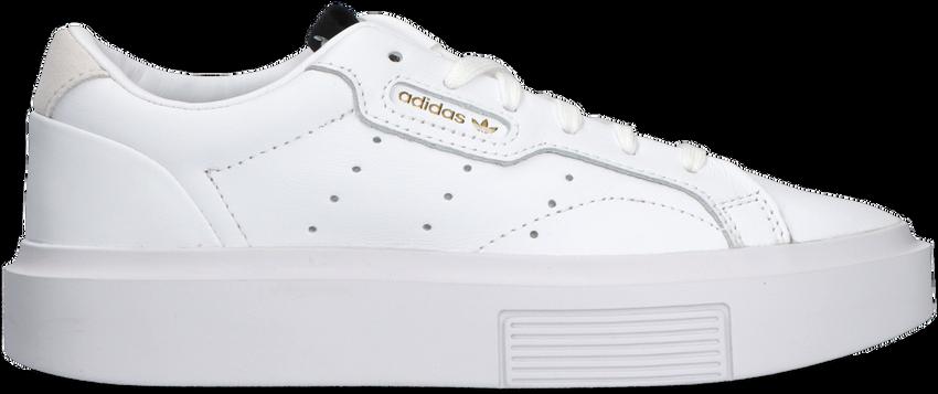 Witte ADIDAS Lage sneakers SLEEK SUPER  - larger