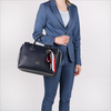 Blauwe TOMMY HILFIGER Handtas CHARMING TOMMY SATCHEL - small