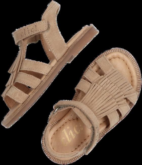 Beige CLIC! Sandalen CL-9431  - large