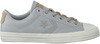 Grijze CONVERSE Sneakers STAR PLAYER OX  - small