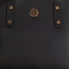 Zwarte TOMMY HILFIGER Handtas TOMMY CHAIN SMALL TOTE - small