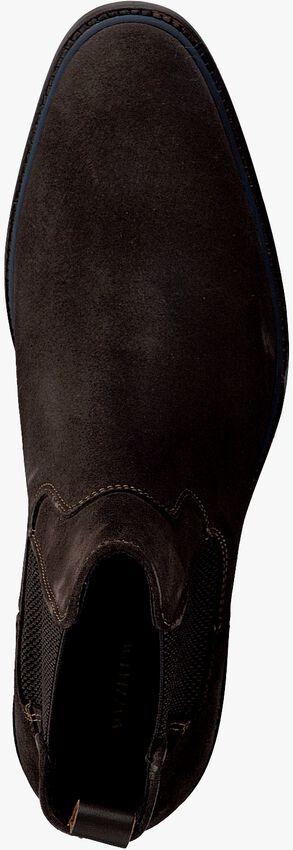 Bruine MAZZELTOV Chelsea boots MBURGO603.OMO1  - larger