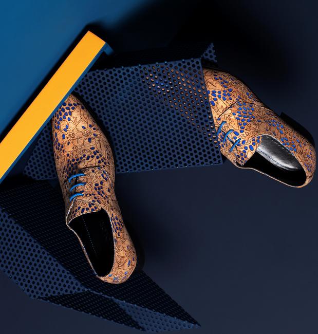 Bruine MASCOLORI Nette schoenen CORK OCEAN - large