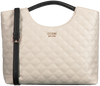 Beige GUESS Shopper MIRIAM SMALL SHOPPER  - small
